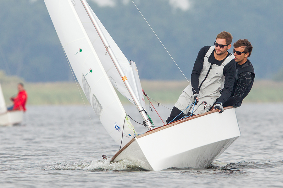 Sieger der 62. Teterower Herbstregatta 2015 Schnepf/Hein